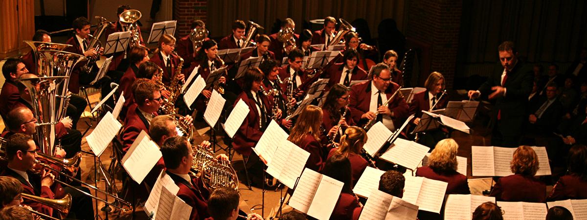 Neujahrskonzert mit der Harmonie Concordia Melick am 08.01.2016 in der Festhalle Oberbruch